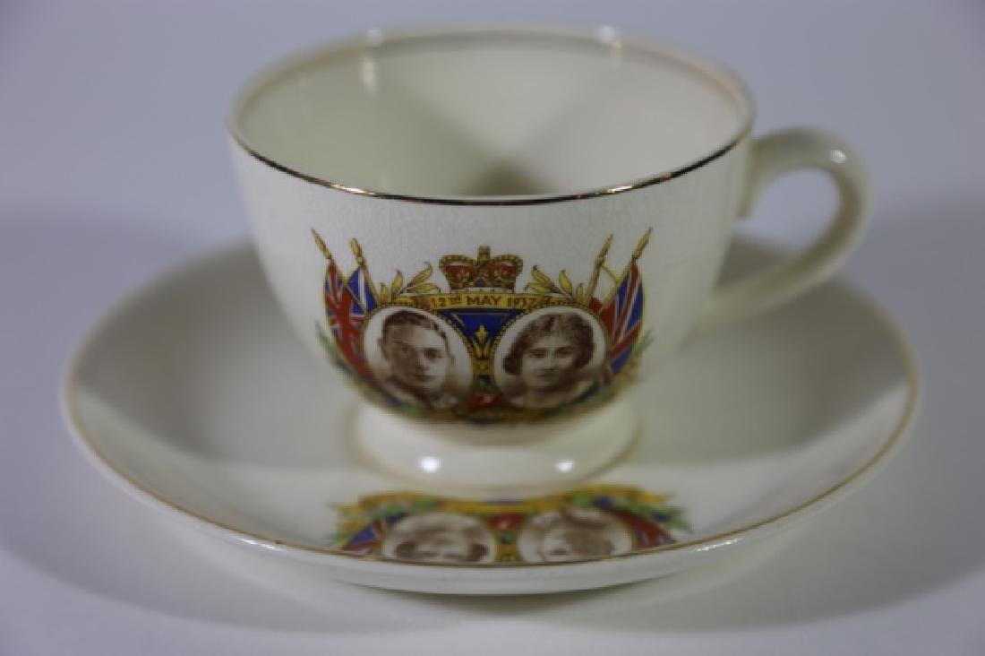 QUEEN ELIZABETH / KING GEORGE CORONATION TEA CUP