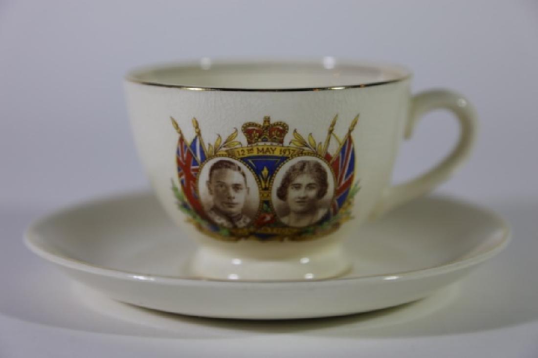 QUEEN ELIZABETH / KING GEORGE CORONATION TEA CUP - 3