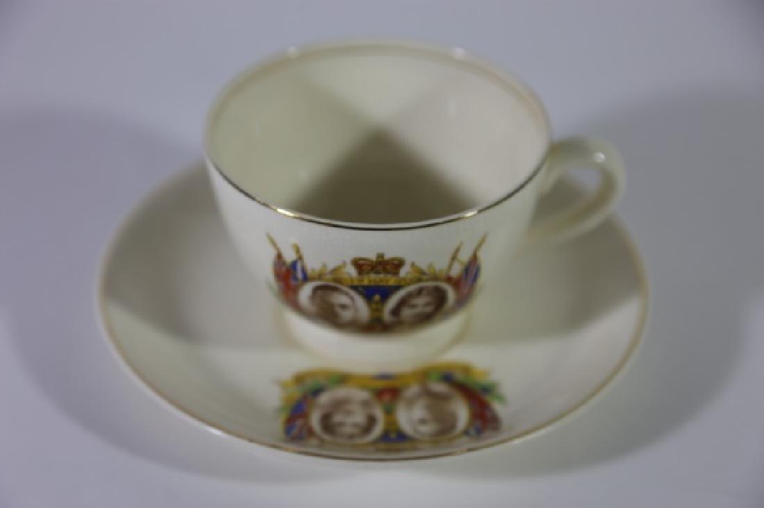 QUEEN ELIZABETH / KING GEORGE CORONATION TEA CUP - 5