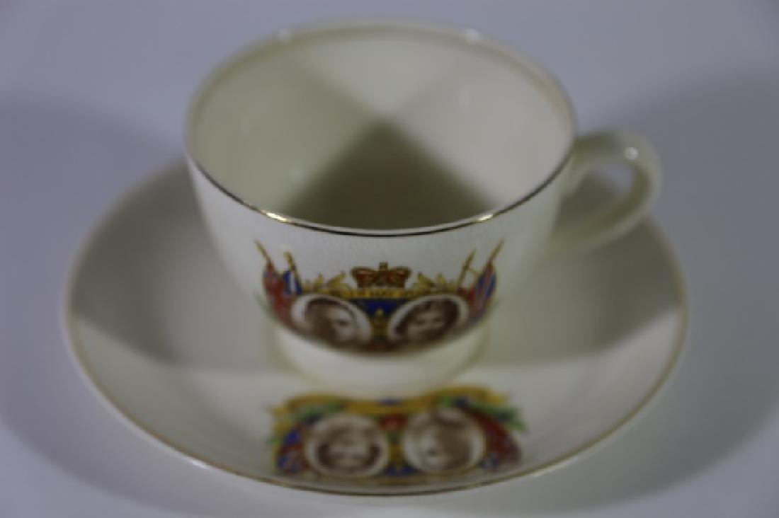 QUEEN ELIZABETH / KING GEORGE CORONATION TEA CUP - 6