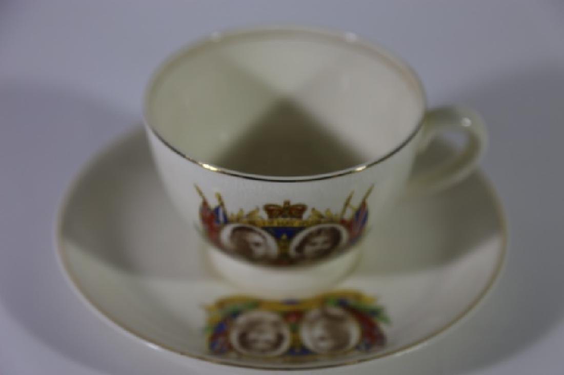 QUEEN ELIZABETH / KING GEORGE CORONATION TEA CUP - 7