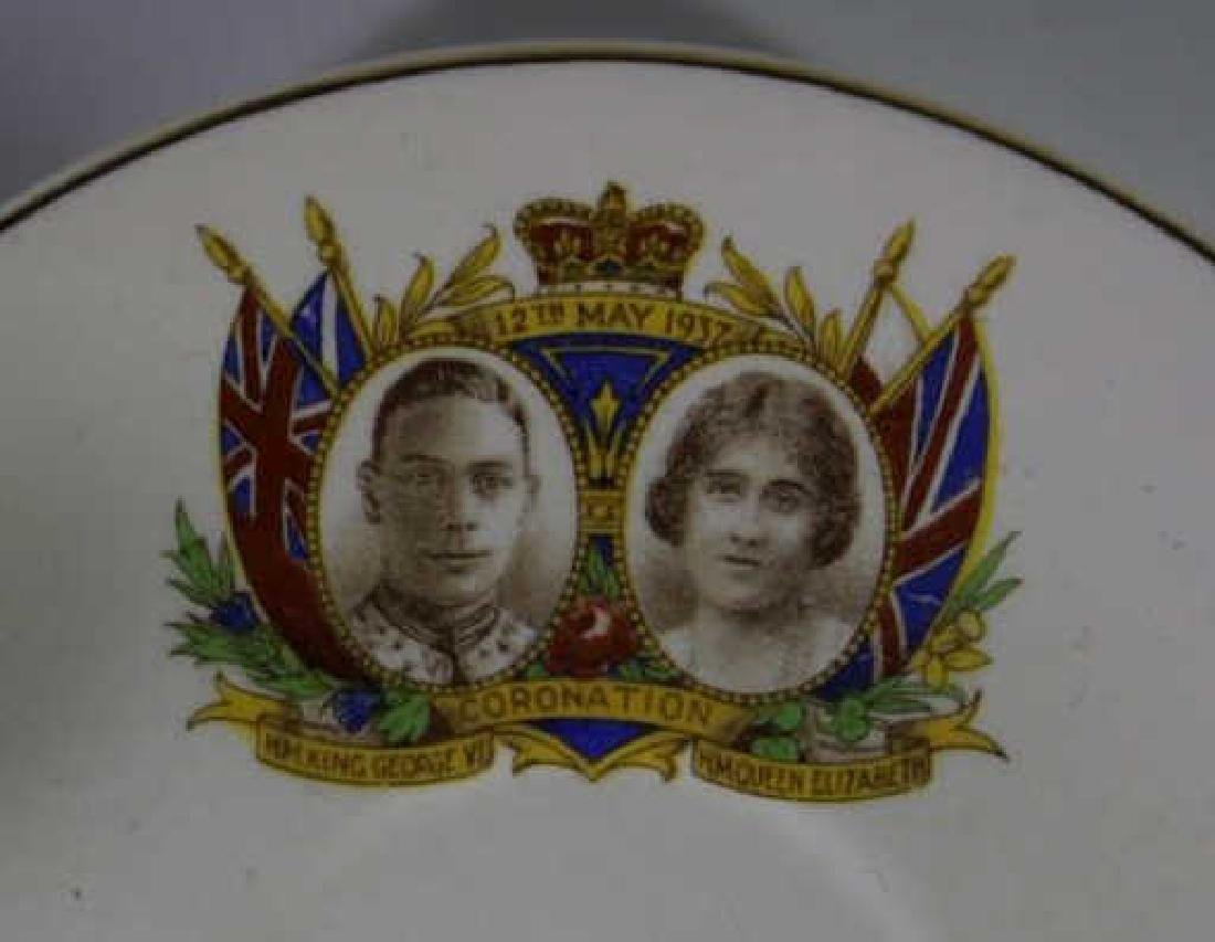 QUEEN ELIZABETH / KING GEORGE CORONATION TEA CUP - 9