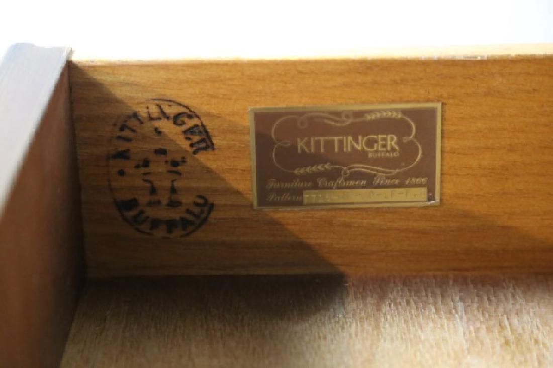 KITTINGER MID CENTURY PALATIAL  BOOKCASE DESK - 9