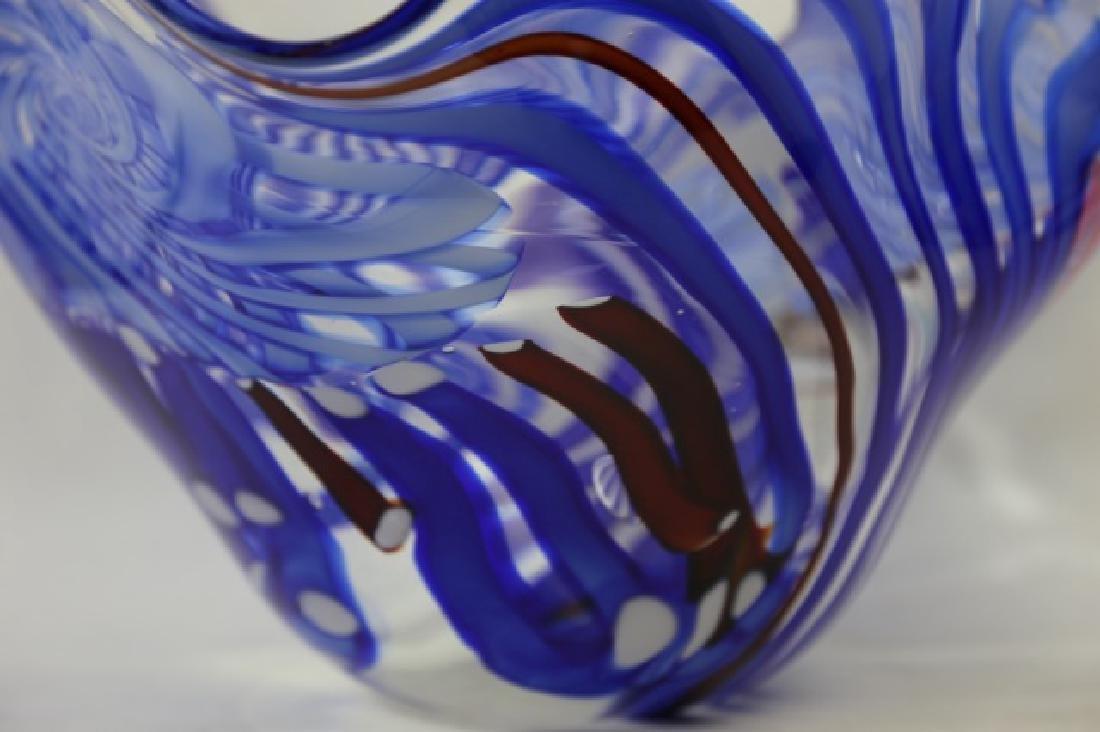 ROLLIN KARG PALATIAL ART GLASS BOWL - 4