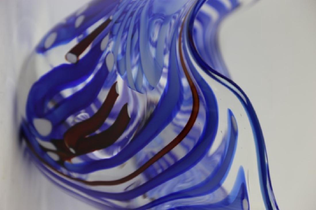ROLLIN KARG PALATIAL ART GLASS BOWL - 5