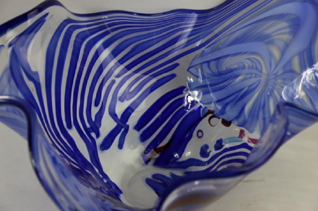 ROLLIN KARG PALATIAL ART GLASS BOWL - 9
