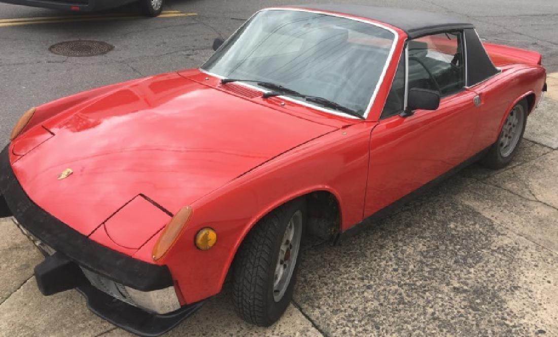 1972 PORSCHE 914 TARGA 1.7 VERY CLEAN MID ENGINE