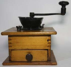 ANTIQUE SOUTHERN PRIMITIVE COFFEE GRINDER