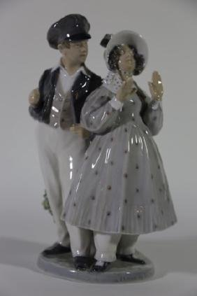 ROYAL COPENHAGEN 1783 PORCELAIN SCULPTURE