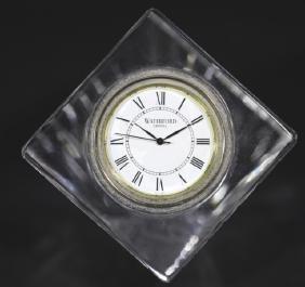 WATERFORD CRYSTAL DESK CLOCK