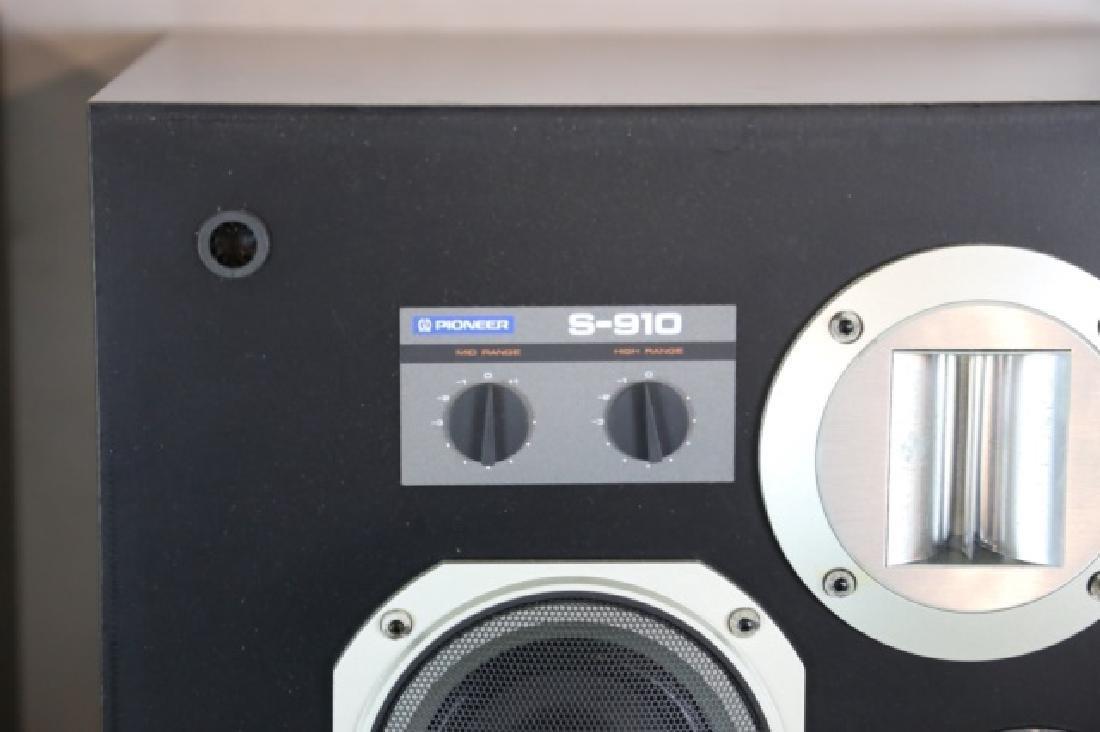 PIONEER VINTAGE S-910 HI-FI STEREO SPEAKERS - 8