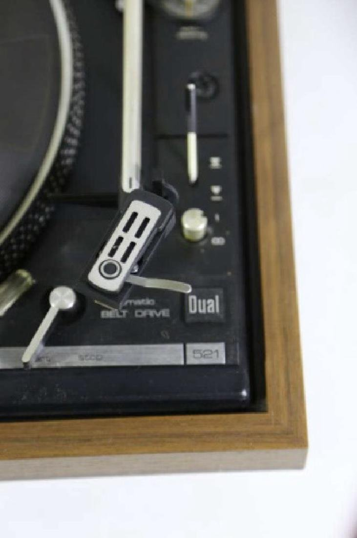 DUAL VINTAGE RECORD PLAYER - 6