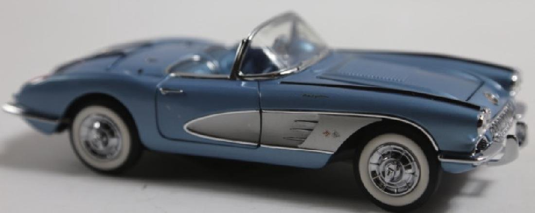 FRANKLIN MINT 1958 CORVETTE SCALE MODEL