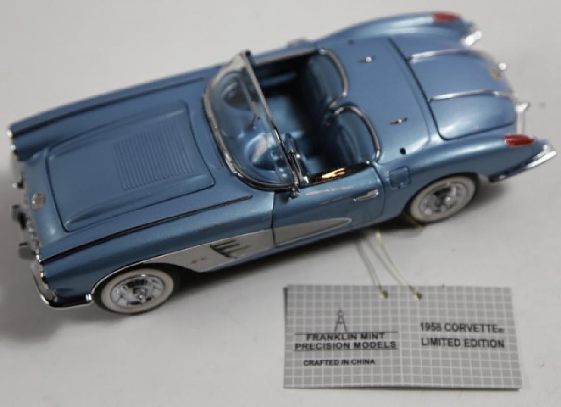 FRANKLIN MINT 1958 CORVETTE SCALE MODEL - 3