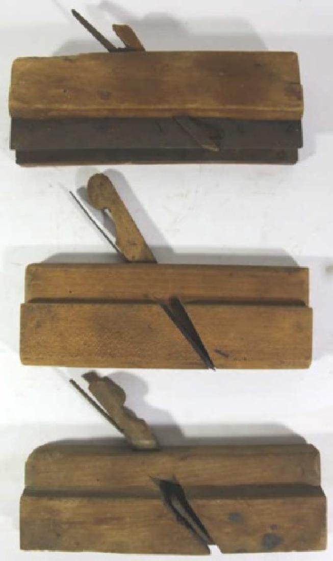 ANTIQUE WOOD PLANE GROUPING