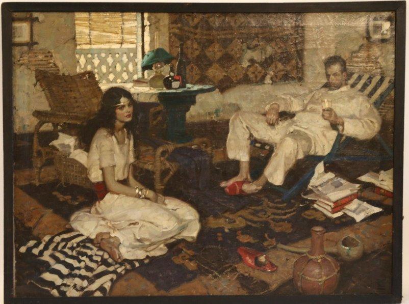 DEAN CORNWELL (AMERICAN 1892-1960) ORIGINAL WORK