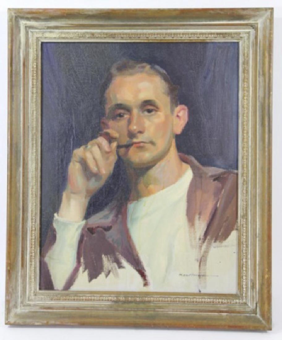 ROBERT C. KAUFFMANN (AMERCIAN 1900-1999) PORTRAIT