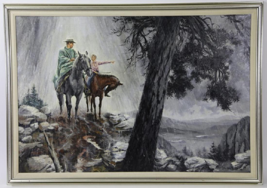 JOHN H. McCLELLAND (AMERICAN, 1919-2016) ORIGINAL