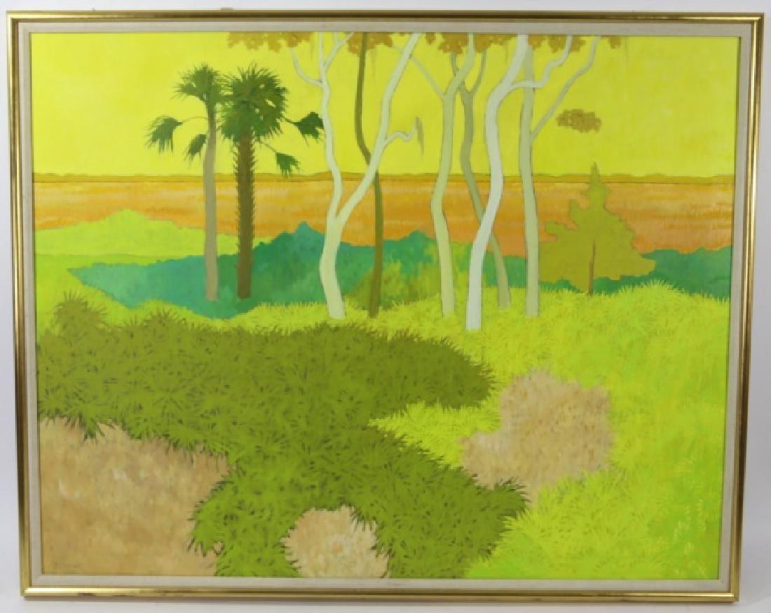 JOHN McCLELLAND (AMERICAN 1919-2016) Summer Marsh