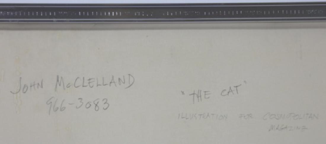 JOHN McCLELLAND (AMERICAN, 1919-2016) ORIGINAL - 10