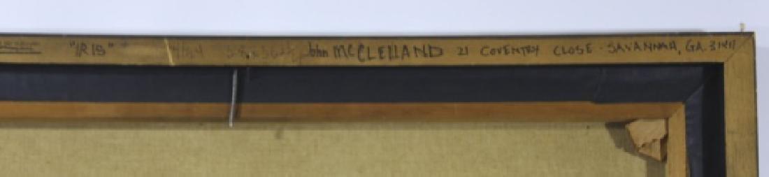 JOHN McCLELLAND (AMERICAN1919-2016) STILL LIFE OIL - 6