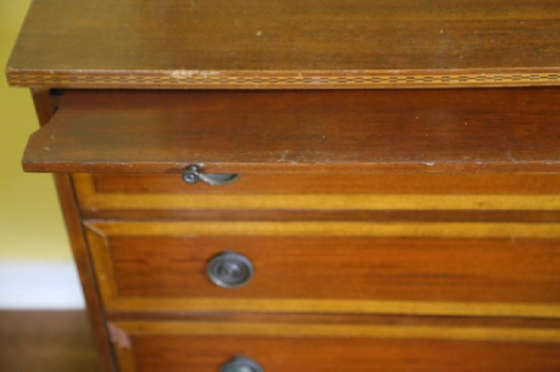 AMERICAN MAHOGANY / SATINWOOD BACHELERS CHEST - 7