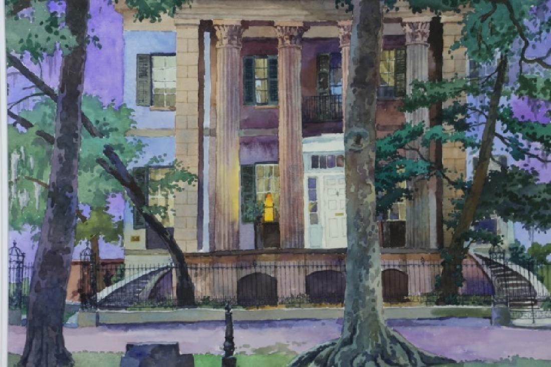 JOHN McCLELLAND (AMERICAN 1919-2016) WATERCOLOR - 3