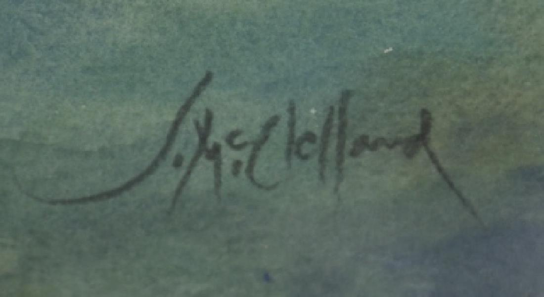 JOHN McCLELLAND (AMERICAN 1919-2016) WATERCOLOR - 6