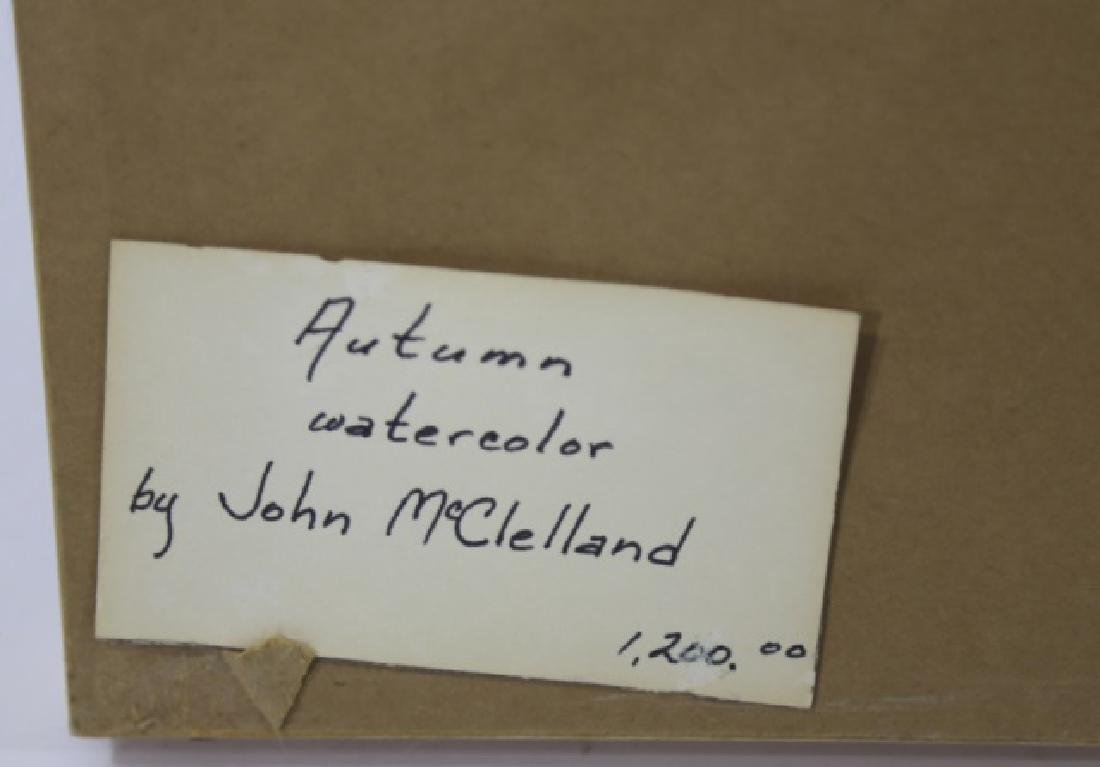 JOHN McCLELLAND (AMERICAN, 1919-2016) ORIGINAL - 7