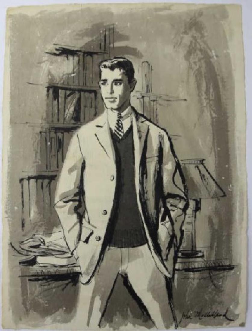 JOHN McCLELLAND (AMERICAN, 1919-2016) ORIGINAL