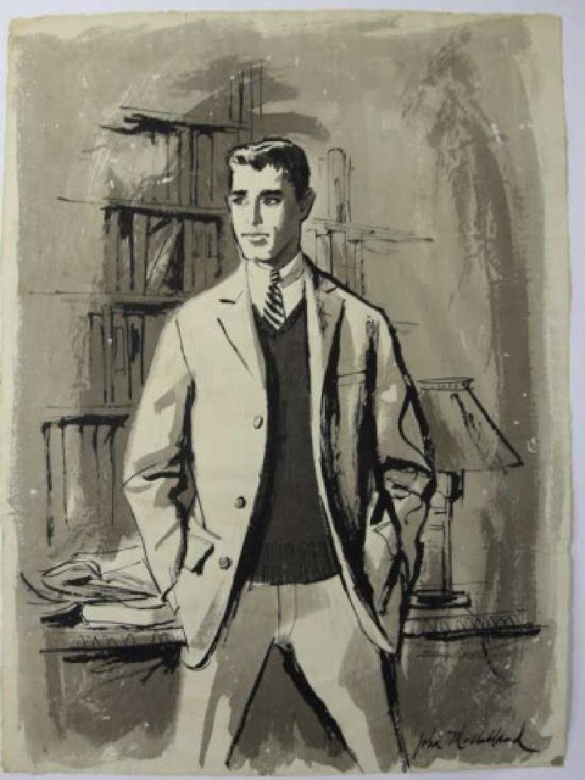 JOHN McCLELLAND (AMERICAN, 1919-2016) ORIGINAL - 2