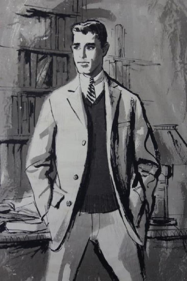 JOHN McCLELLAND (AMERICAN, 1919-2016) ORIGINAL - 4