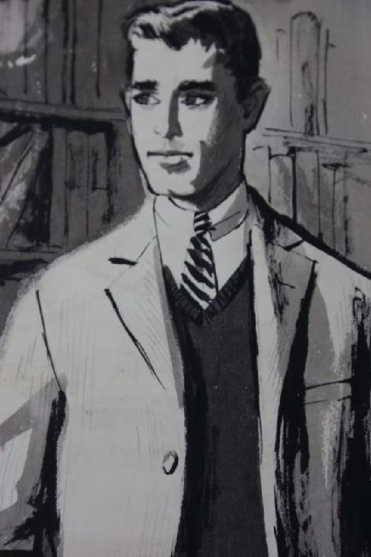 JOHN McCLELLAND (AMERICAN, 1919-2016) ORIGINAL - 6