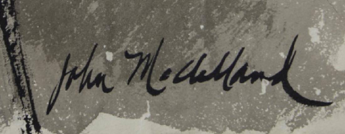 JOHN McCLELLAND (AMERICAN, 1919-2016) ORIGINAL - 8