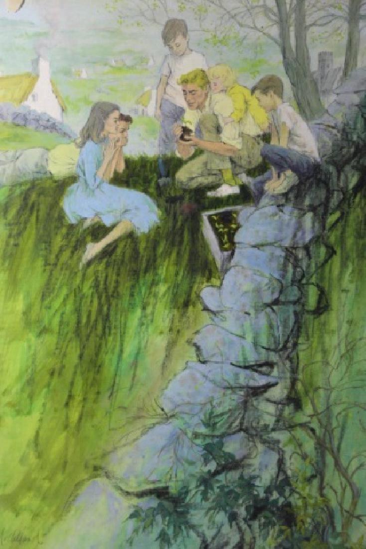 "JOHN McCLELLAND (AMERICAN 1919-2016)""THE GARDENER"" - 2"