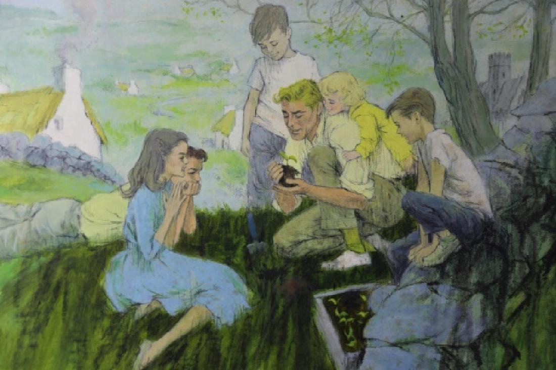 "JOHN McCLELLAND (AMERICAN 1919-2016)""THE GARDENER"" - 3"