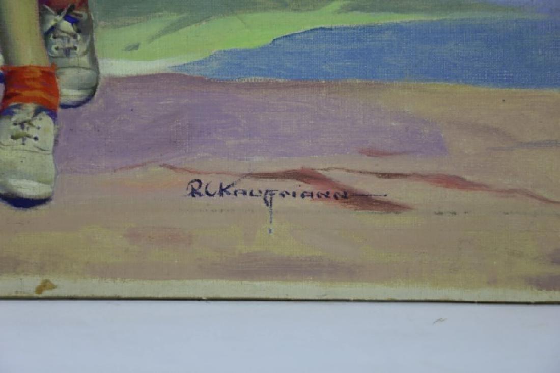 ROBERT C. KAUFFMANN (AMERCIAN 1900-1999) ORIGINAL - 4