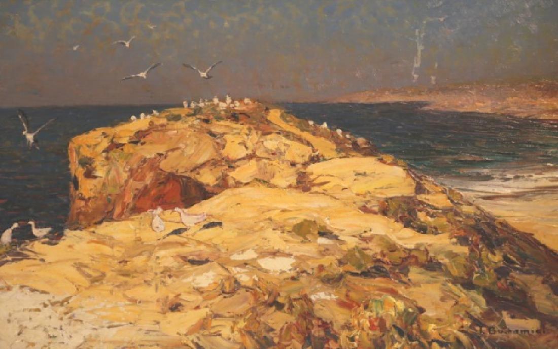 LOUIS BOMAMICI (1878-1966 ITALIAN) ORIGINAL - 8