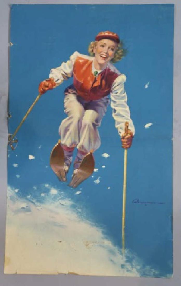 ROBERT C. KAUFFMANN (AMERCIAN 1900-1999) POSTER