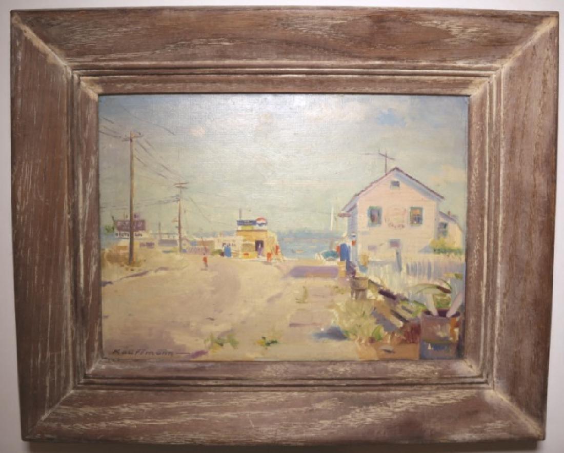 ROBERT C. KAUFFMANN (AMERCIAN 1900-1999) ORIGINAL - 8