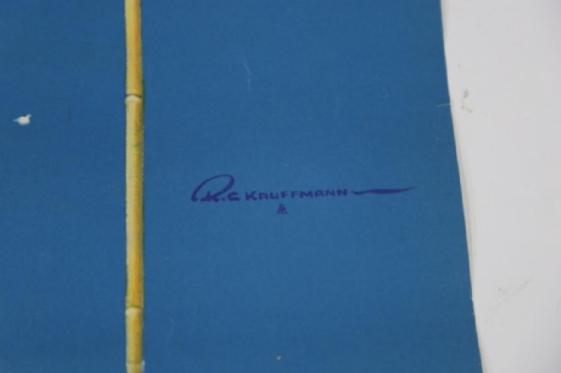 ROBERT C. KAUFFMANN (AMERCIAN 1900-1999) POSTER - 3