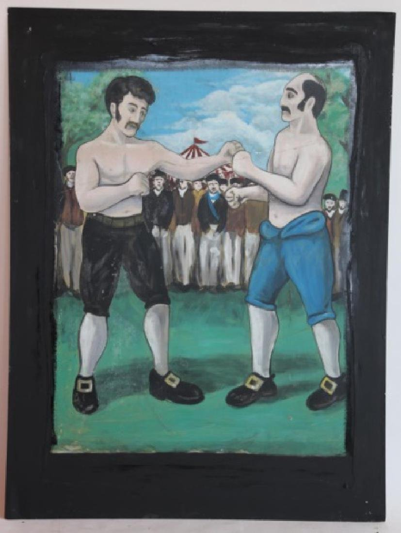 "ENGLISH ""THE BOXERS"" VINTAGE  PUB SIGN"