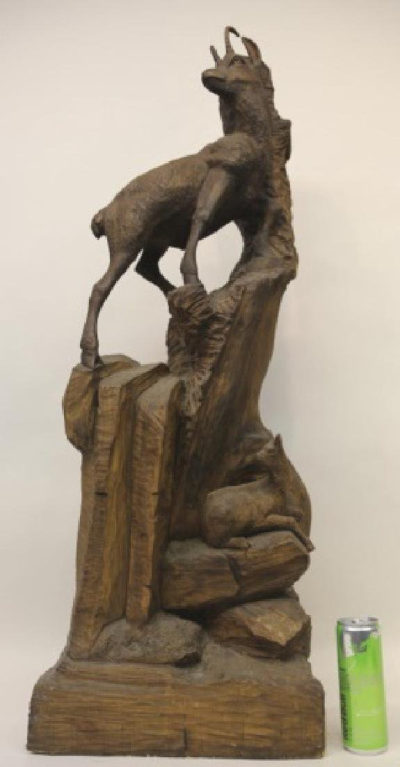 SWISS BLACK FOREST ANTIQUE CARVING