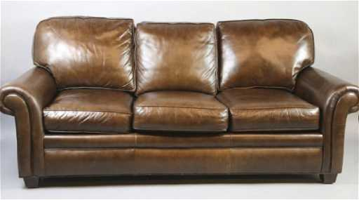 HANCOCK MOORE LEATHER SOFA - Hancock and moore leather sofa prices