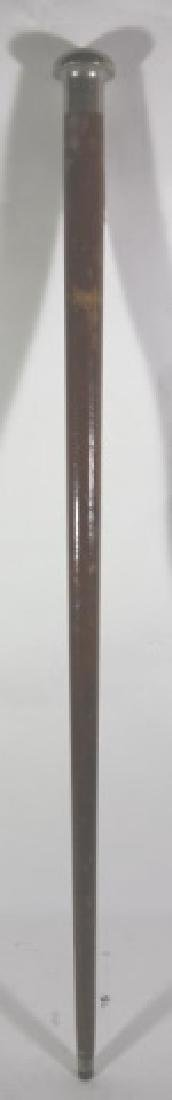 WHITE HOUSE 1814 DATED ANTIQUE WALKING CANE