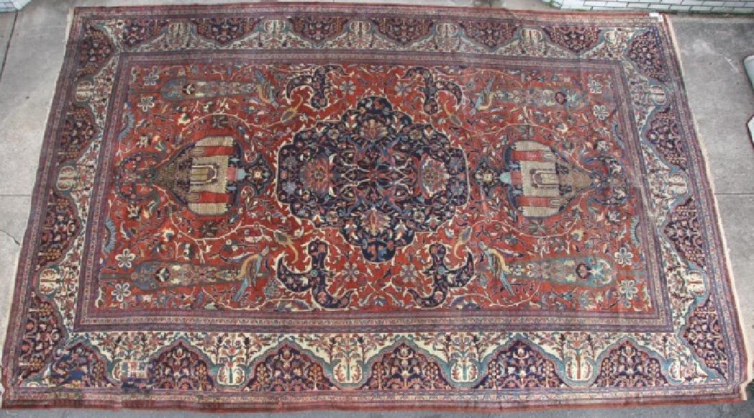 PERSIAN FARAHAN MAHAL HAND WOVEN PALACE CARPET