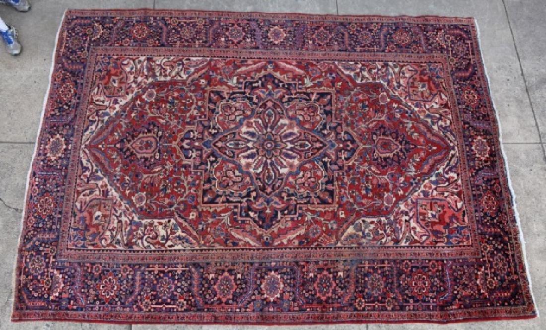 PERSIAN SAROUK HAND WOVEN ROOM SIZE CARPET