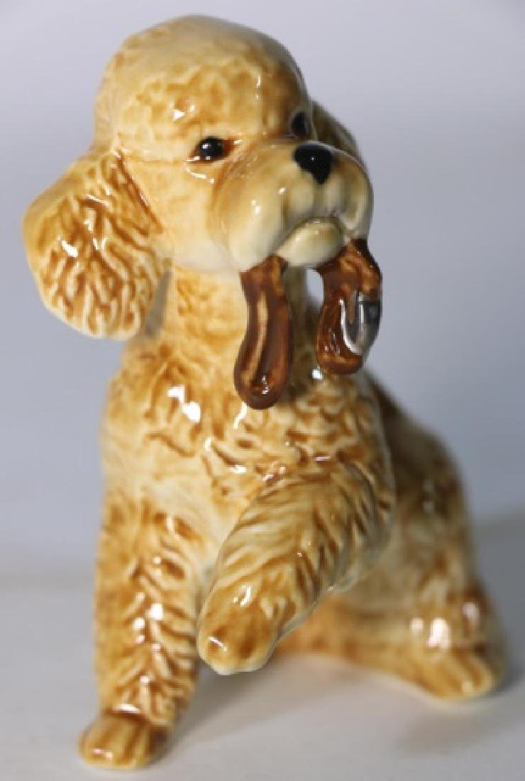GOEBEL PORCELAIN COCKER SPANIEL FIGURINE - 2