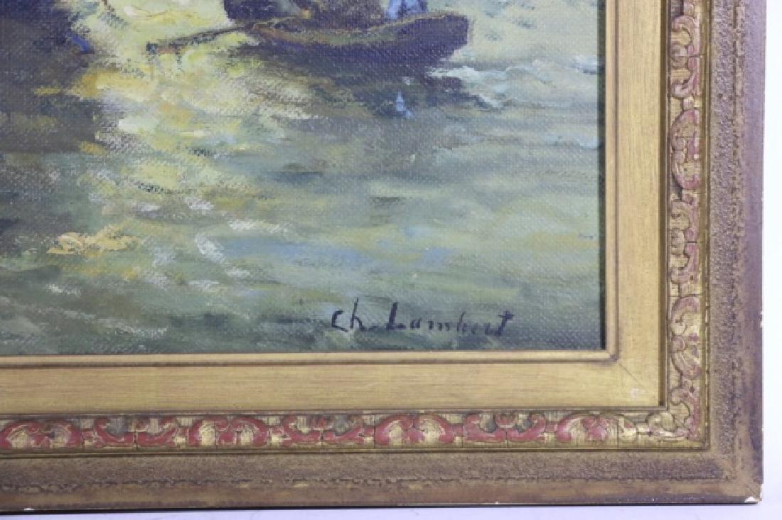 CHARLES LAMBERT 19TH C OOC - 3