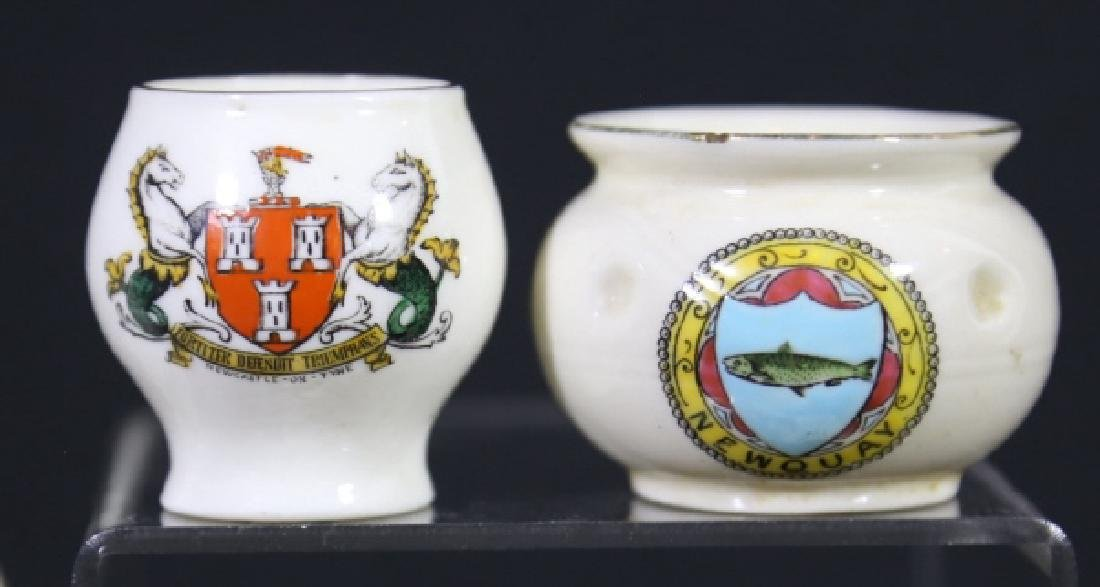 ENGLISH ANTIQUE CREST MINIATURES GROUPING - 2